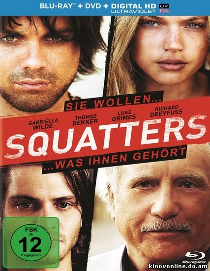Поселенцы - Squatters (2014) HDRip